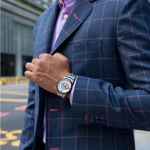 Bespoke Custom Tailored Suit by Perfect Attire