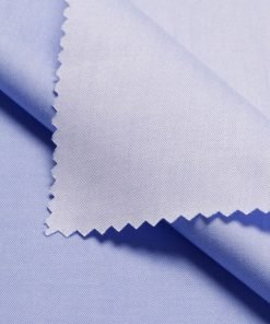 Blue Tailored Bespoke Business Twill Shirt Carola Series from Perfect Attire Singapore