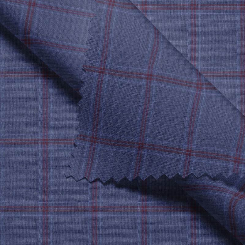 Blue Red Double Windowpane- VBC Series