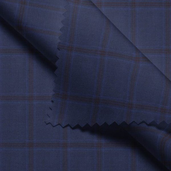 Blue Brown Windowpane- VBC Series