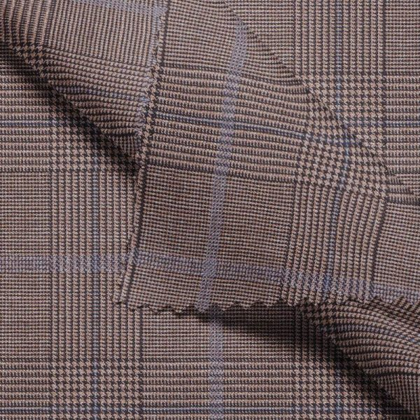 Light Brown Windowpane - Drago S130
