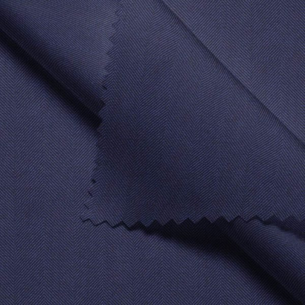 Navy Herringbone - Drago S130