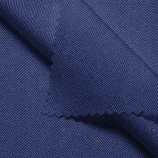 Blue Herringbone - Drago S130
