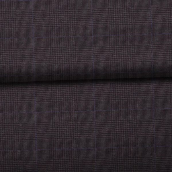 Dark Brown Windowpane - Drago S130