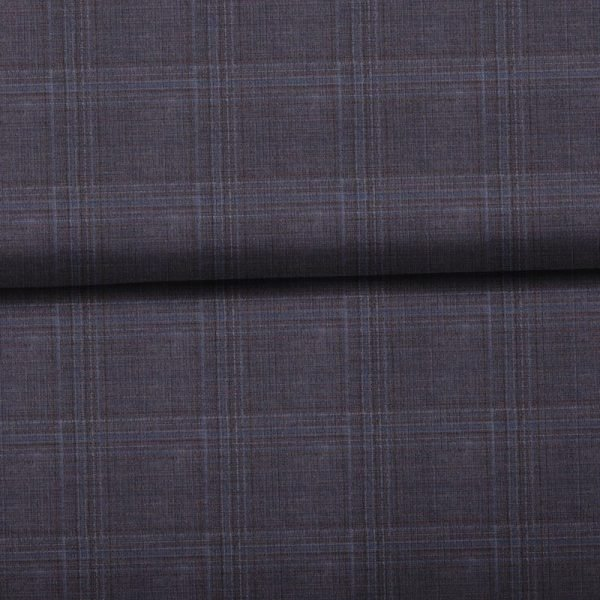 Brown Windowpane Checks - Zegna