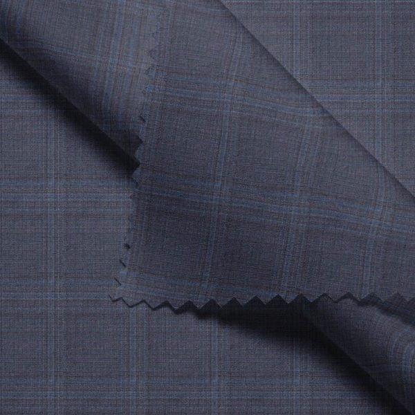 Grey Windowpane Checks - Zegna