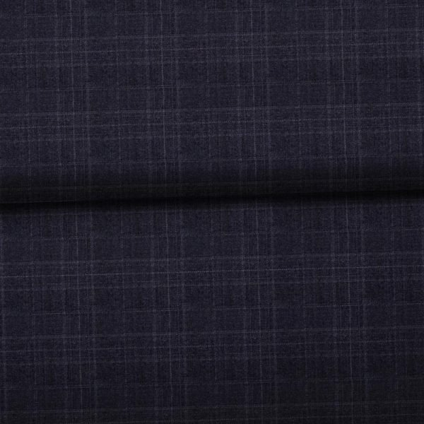 Charcoal Windowpane- Zegna
