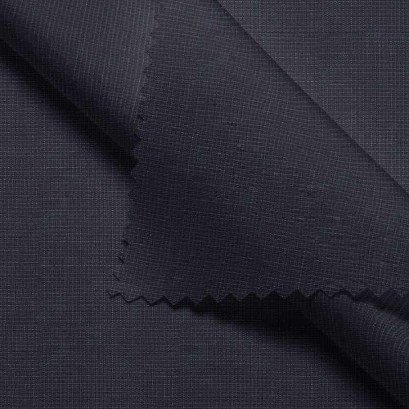 Charcoal Dobby Textured- Zegna