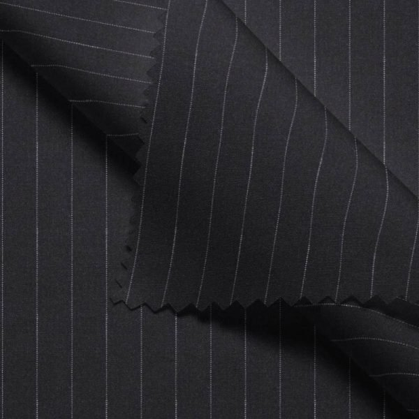 Charcoal Broad Hairline Stripe- VBC Series