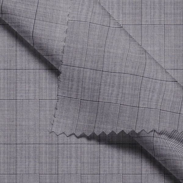 Light Grey Glen Checks Performance Waistcoat