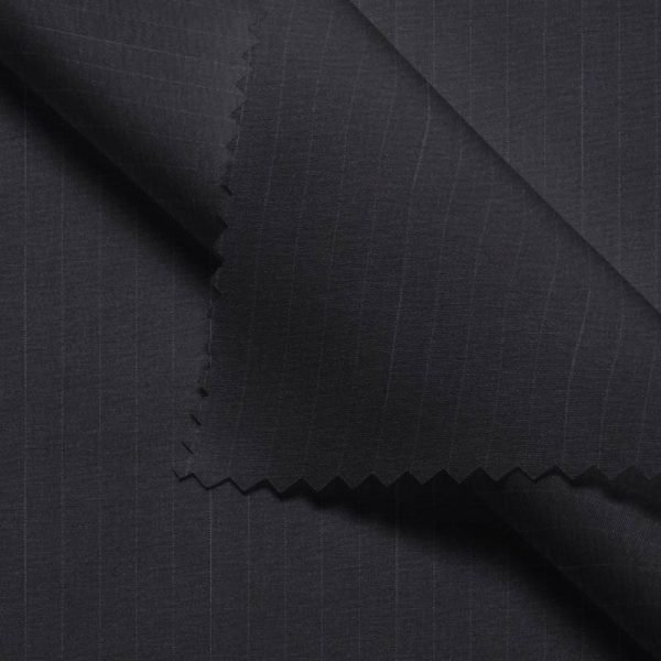 Charcoal Broad Chalk Stripes- Holland & Sherry