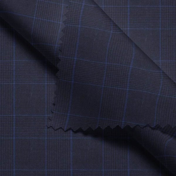 Navy Glen Plaid- Holland & Sherry