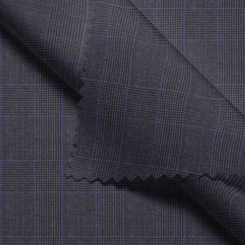 Charcoal Glen Plaid- Holland & Sherry