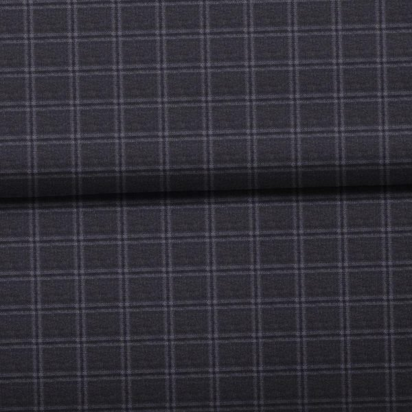 Charcoal Mini Windowpane- VBC Series