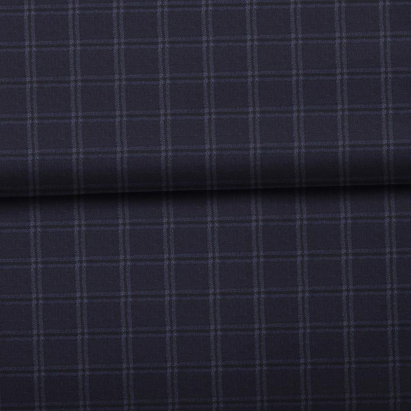 Navy Mini Windowpane- VBC Series