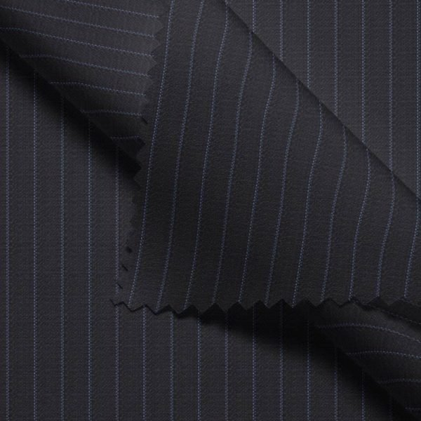 Charcoal Chalk Stripes- VBC Series