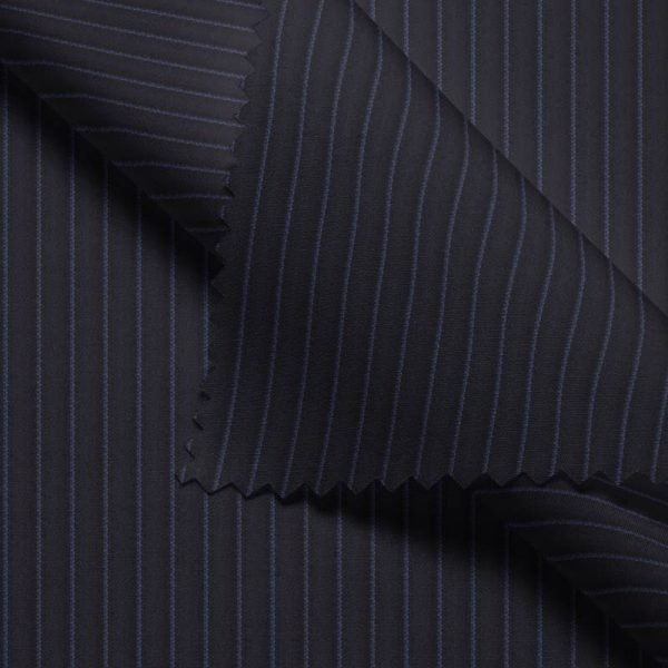 Navy Chalk Stripes- VBC Series